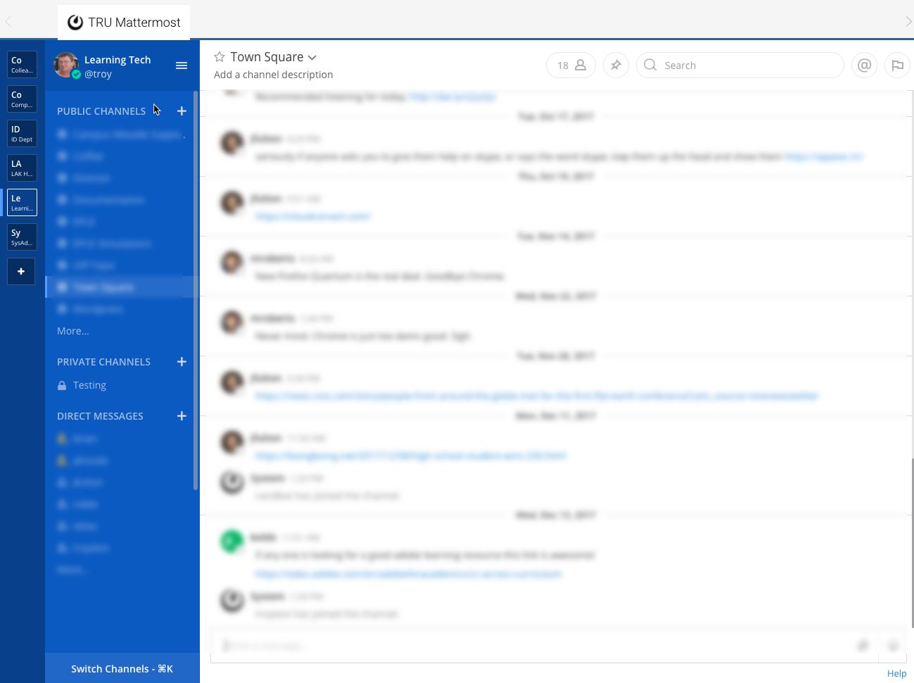 Mattermost: Workplace Messaging – TRUBOX