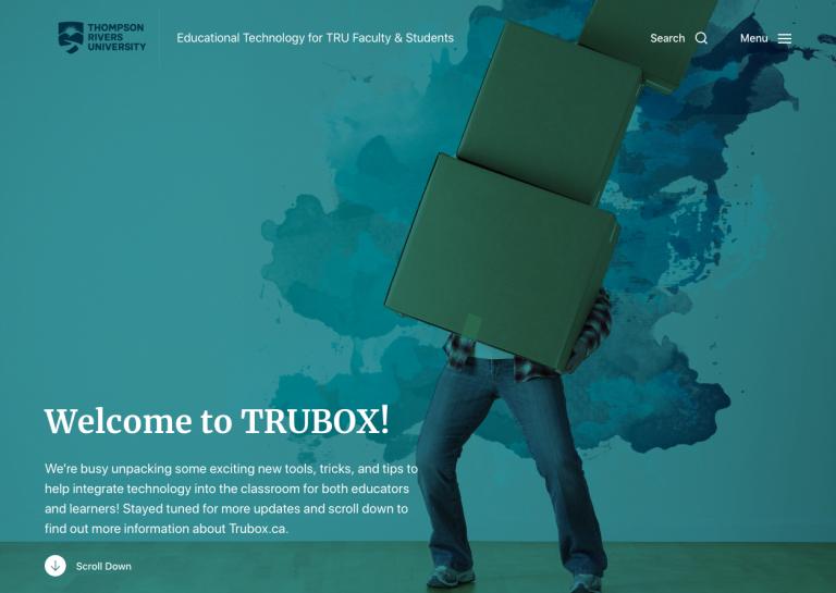 Trubox & WordPress